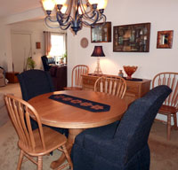 Formal Dining Room at Ariel's B&B